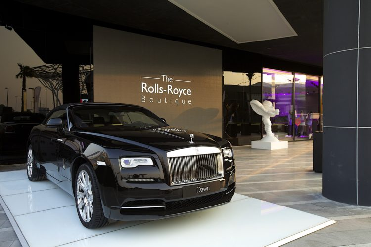 Rolls Royce Boutique Experimental Showroom Opened In Dubai