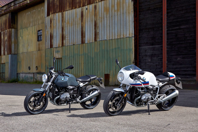 R nineT Racer and R nineT Pure 750x500