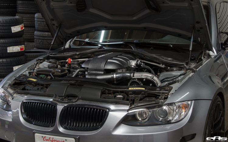 Space Grey Metallic BMW E92 M3 Gets Supercharged And Tuned At European Auto Source 8 750x469