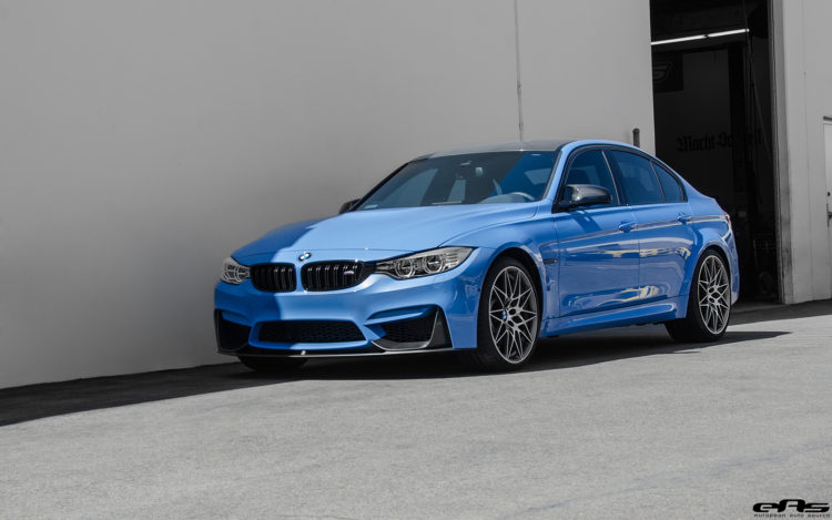 Yas Marina Blue BMW M3 With A Competition Package Gets IND Cosmetic Details Installed 1 750x469