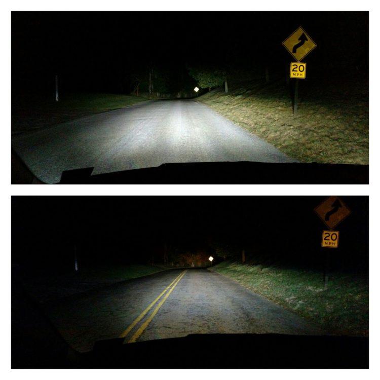 bmw-i3-led-dark-road