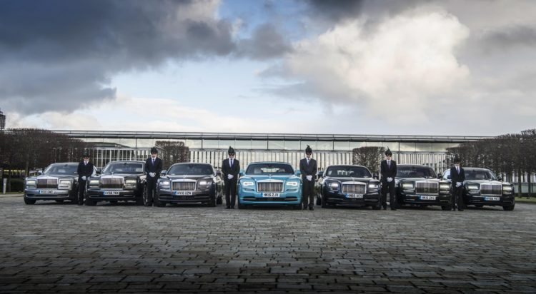 1295505 Rolls Royce chauffeurs prepare for the Elephant Family Animal Ball b 750x412