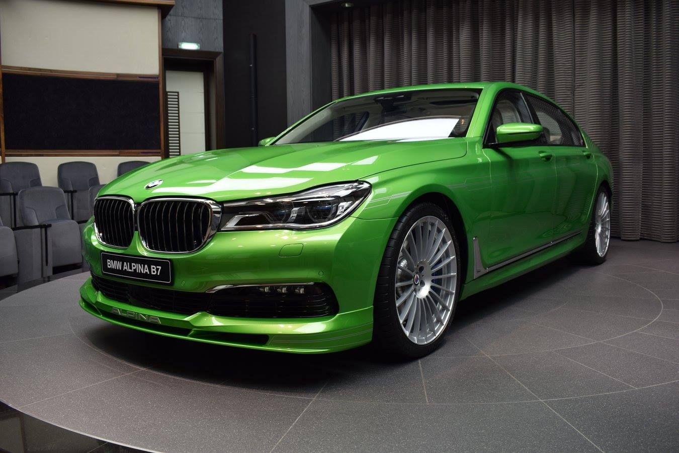 Java Green Bmw Alpina B7 Is An Unexpected Choice
