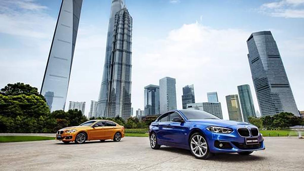 2017 BMW 1 Series Sedan 1