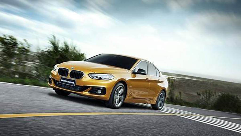 2017 BMW 1 Series Sedan 4