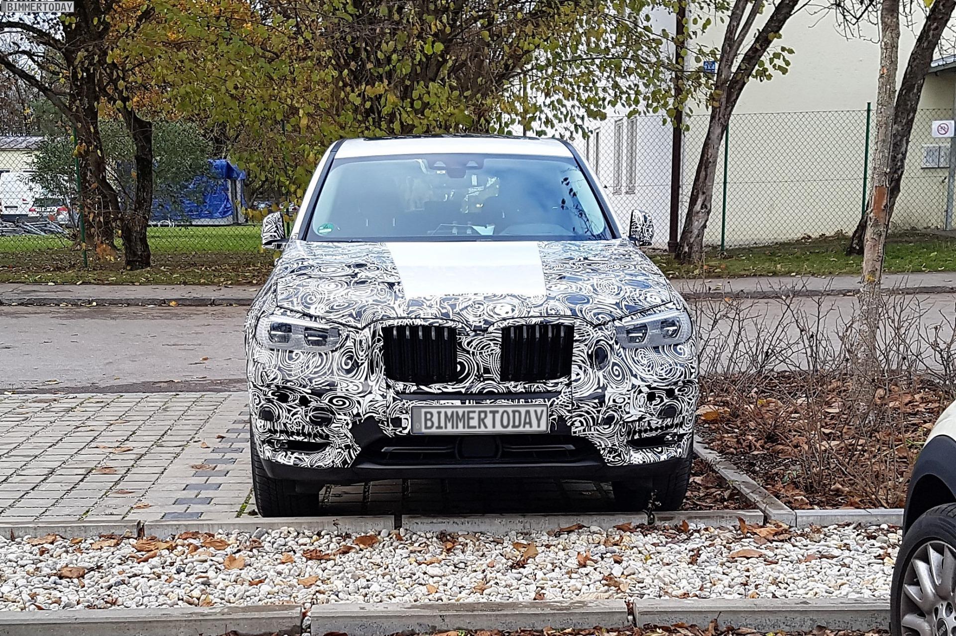 2017 BMW X3 G01 SUV Erlkoenig 08