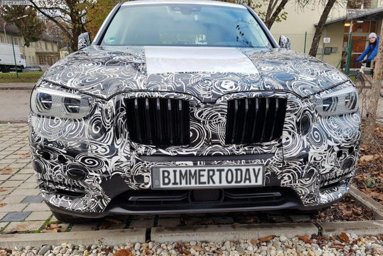 2017 BMW X3 G01 SUV Erlkoenig 09 750x501