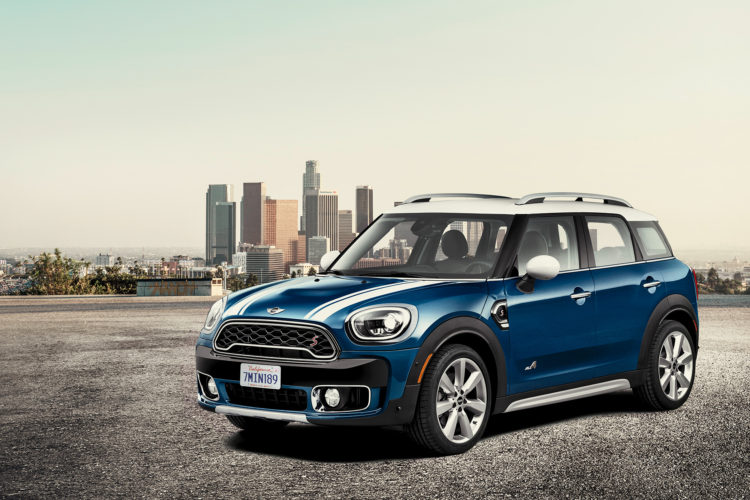 2017 mini countryman la auto show 750x500