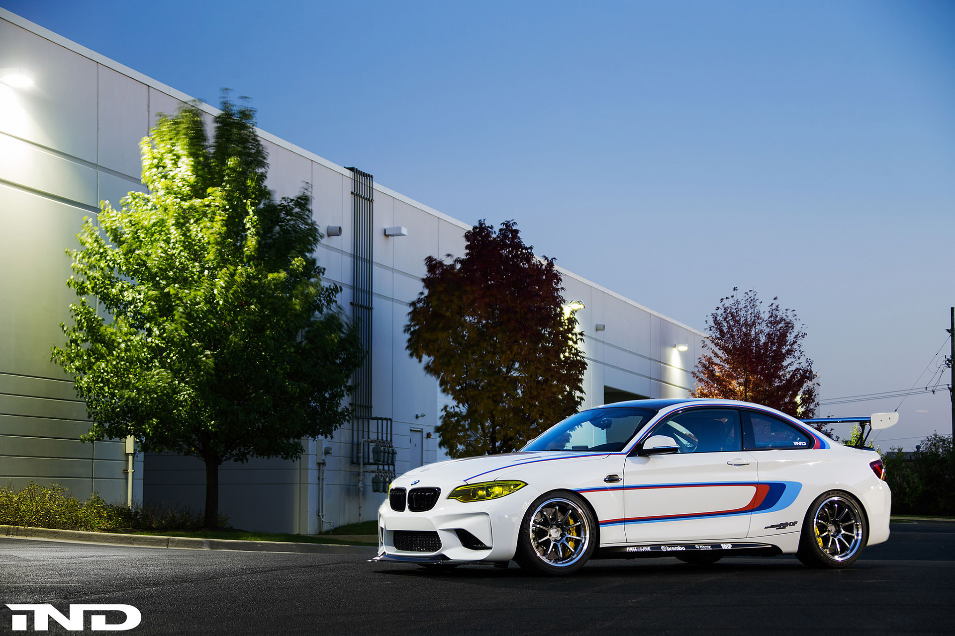 Alpine White BMW M2 By IND Distribution 3