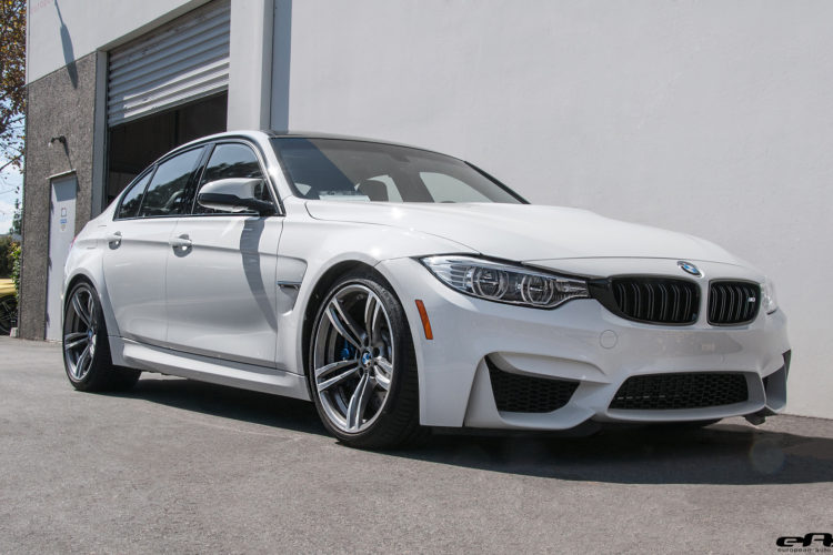 Alpine White BMW M3 Gets Subtly Modified 10 750x500