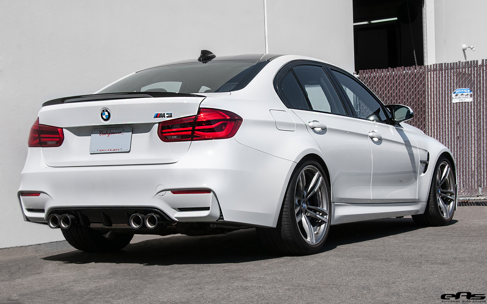 Alpine White Bmw M3