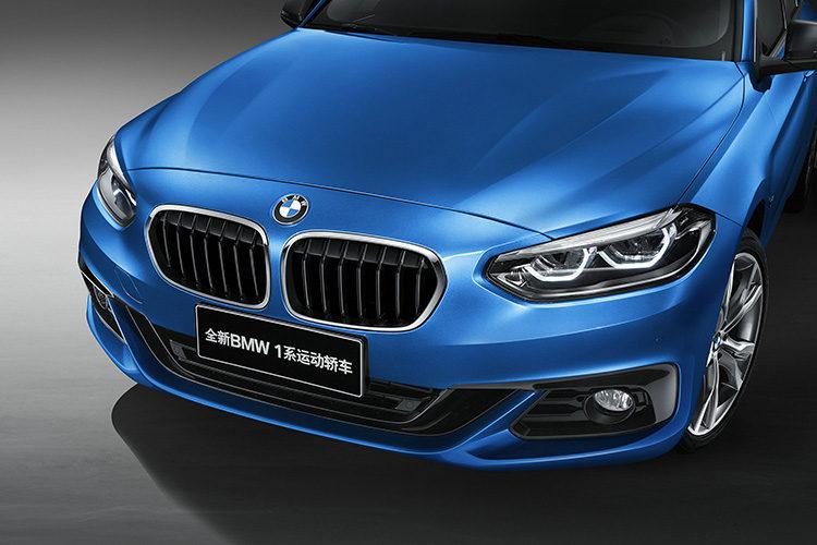 BMW 1 Series Sedan front fascia 750x500
