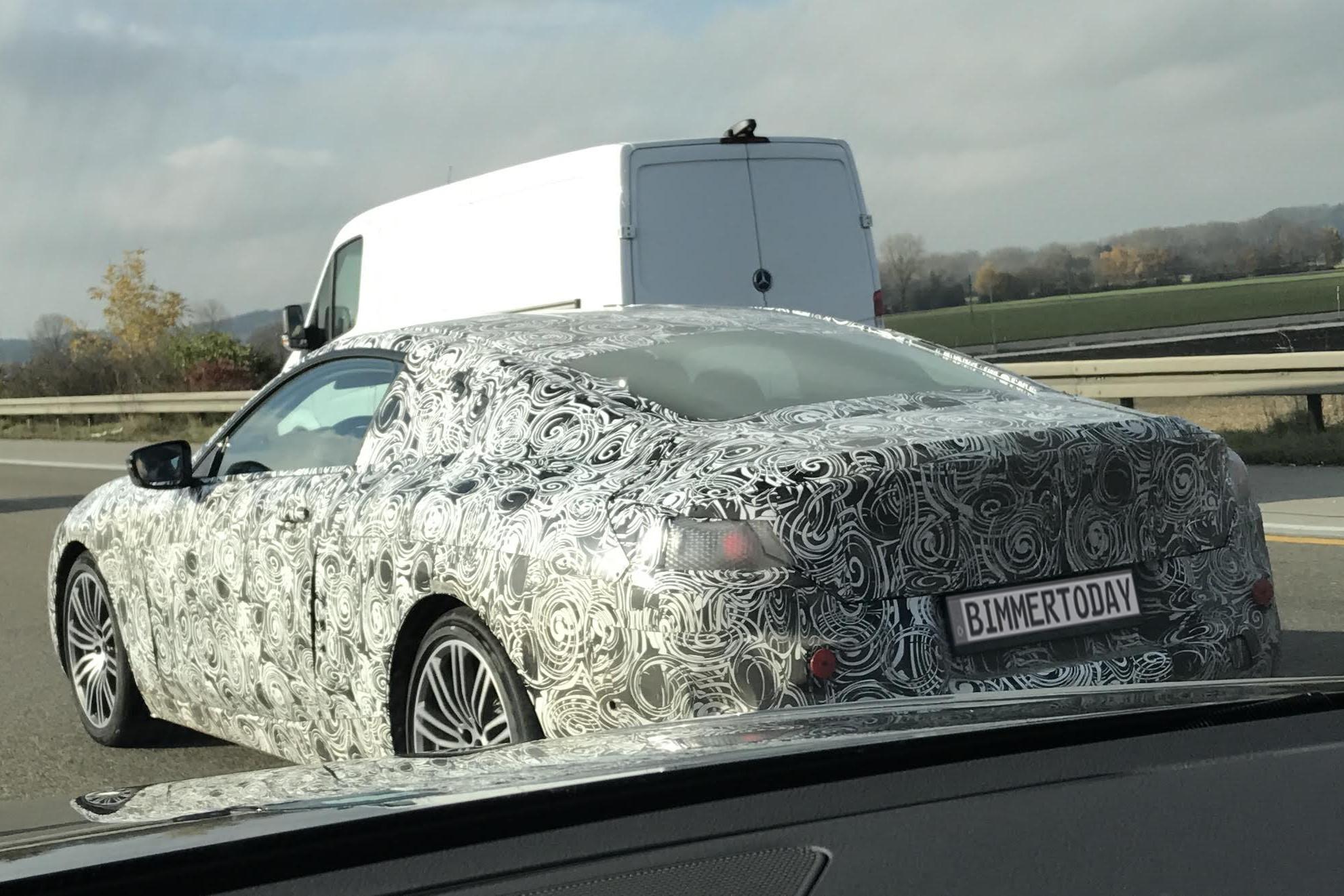 BMW 8er 2018 Erlkoenig Luxus Coupe 01