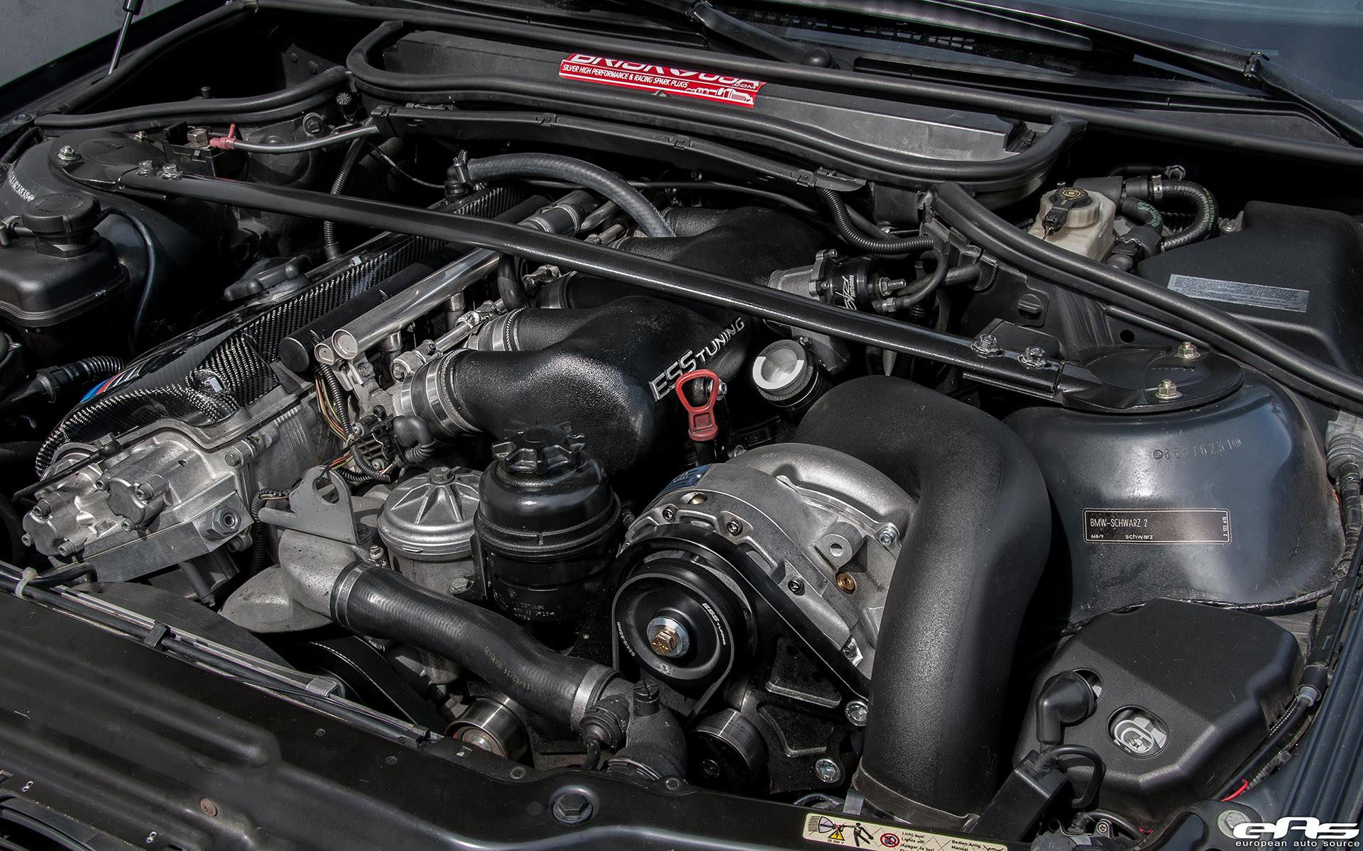 A Jet Black Bmw E46 M3 Gets A Supercharger