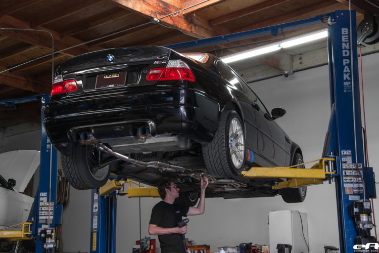 BMW E46 M3 Gets Supercharged 8 750x500