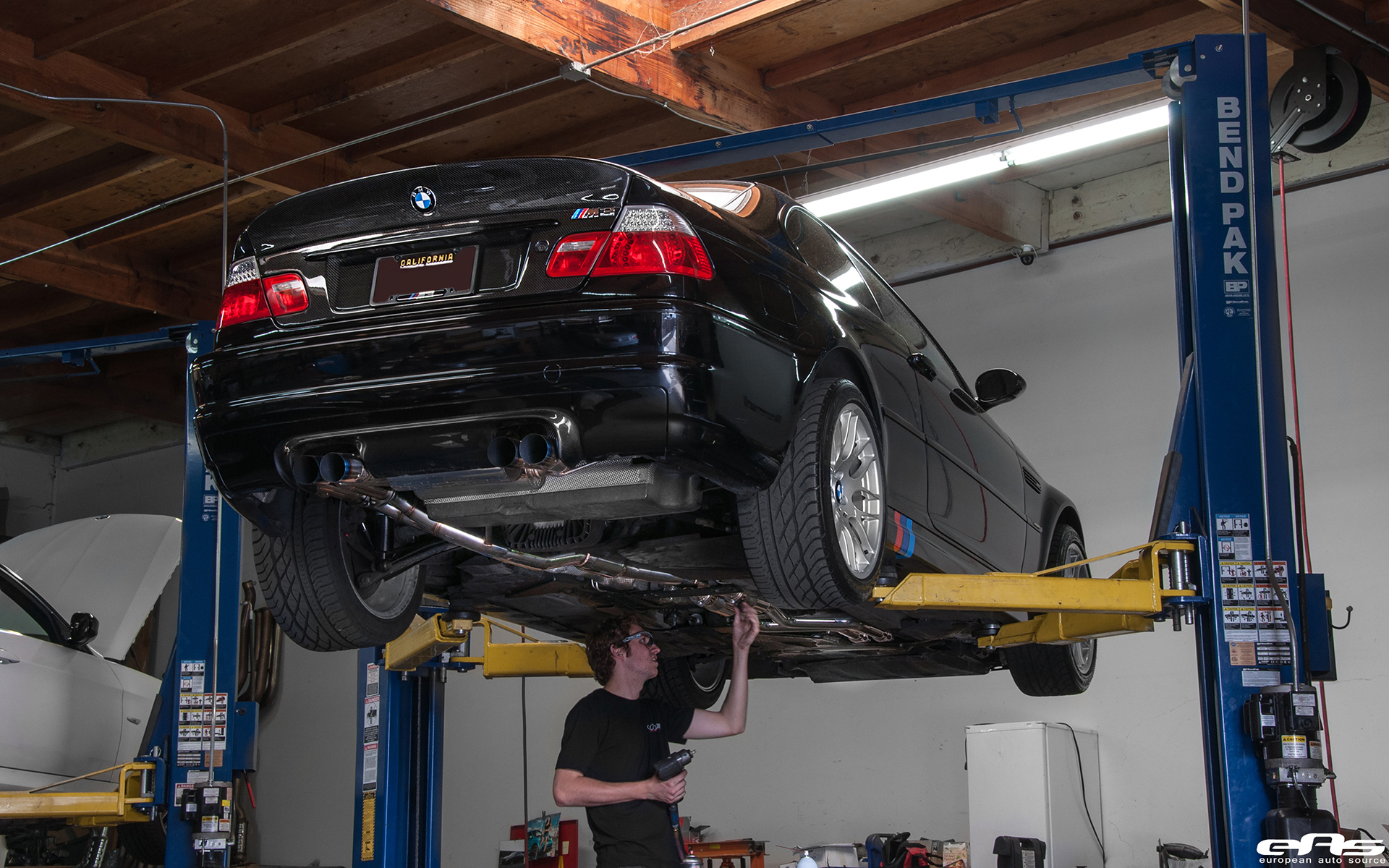 A Jet Black Bmw E46 M3 Gets A Supercharger