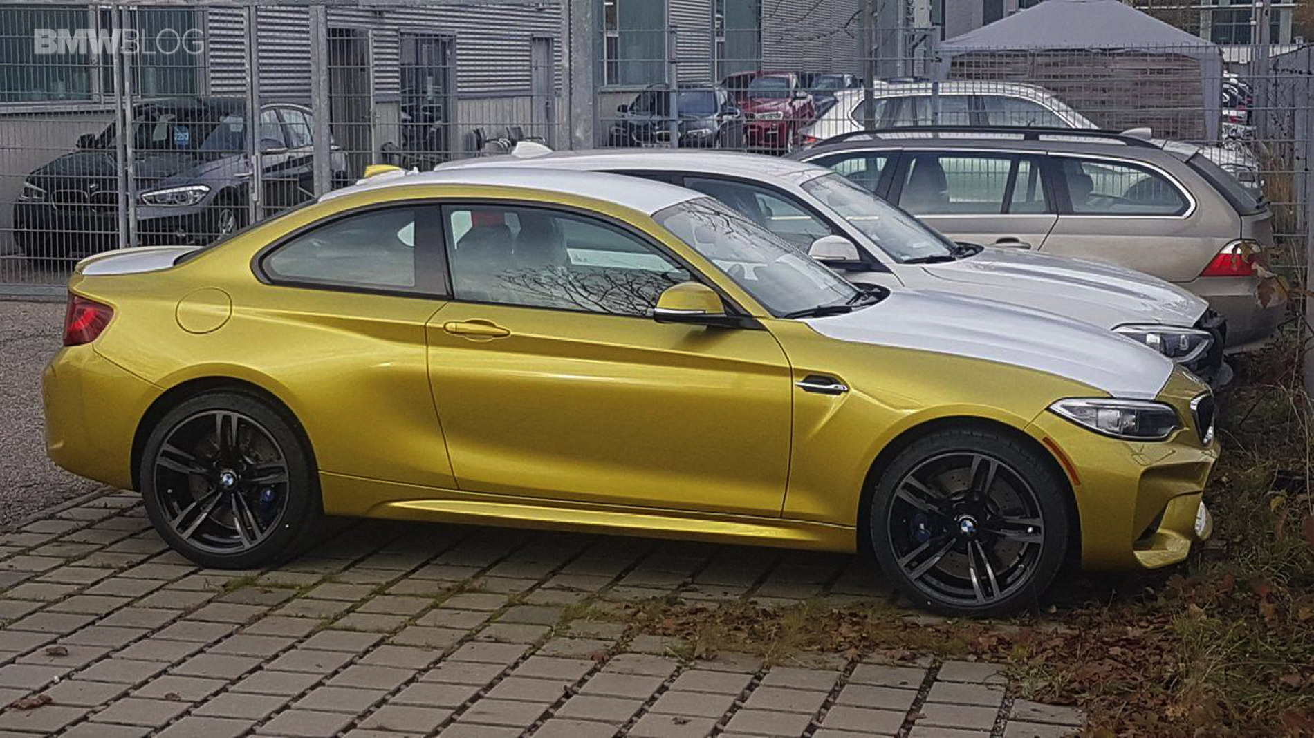 BMW M2 Austin Yellow 1