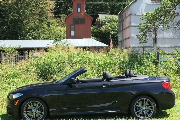 BMW M235i xDrive Convertible test 1 750x500
