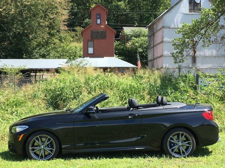 BMW M235i xDrive Convertible test 1 750x561