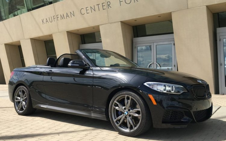 BMW M235i xDrive Convertible test 2 750x469