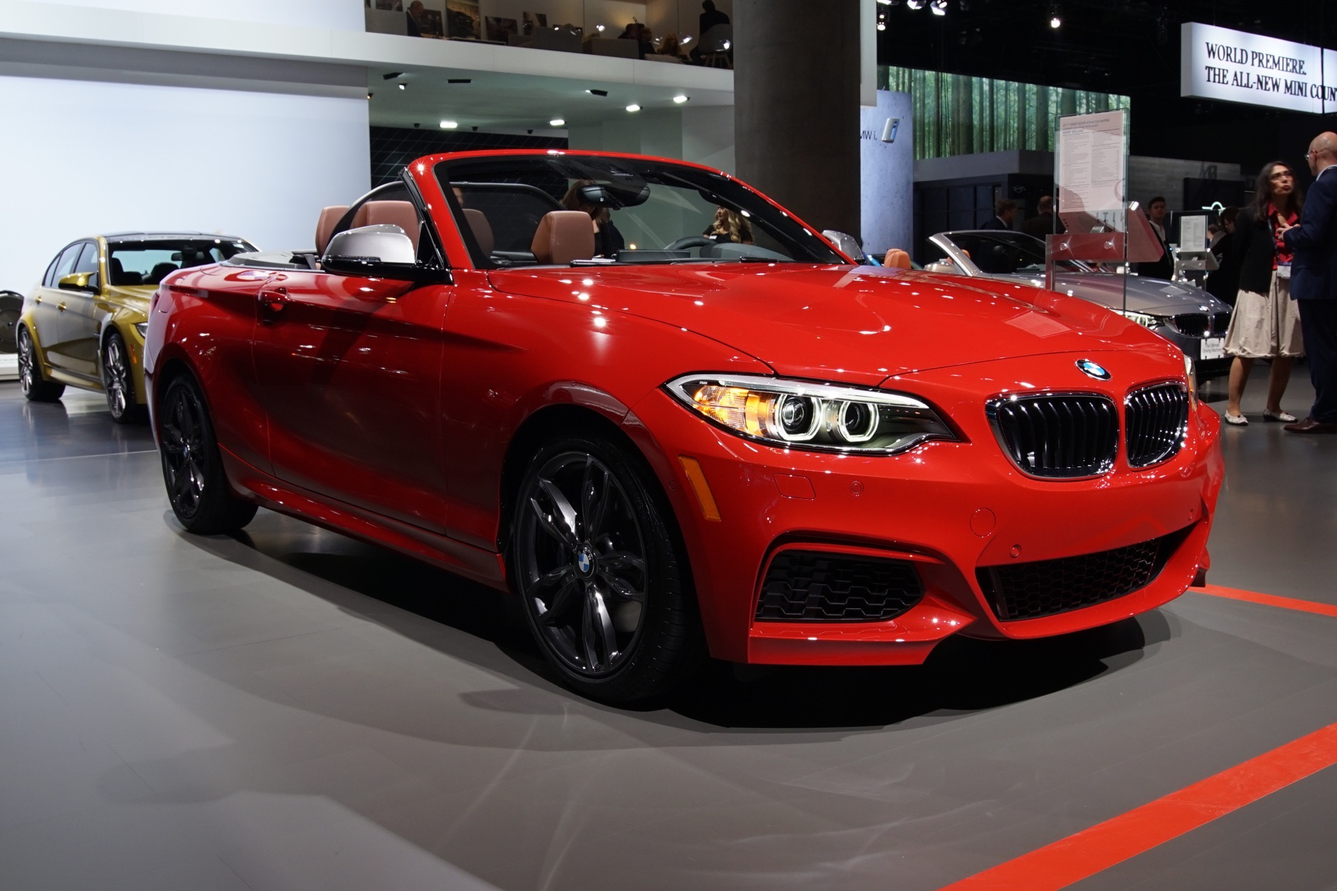 BMW M240i 2016 LA Auto Show1