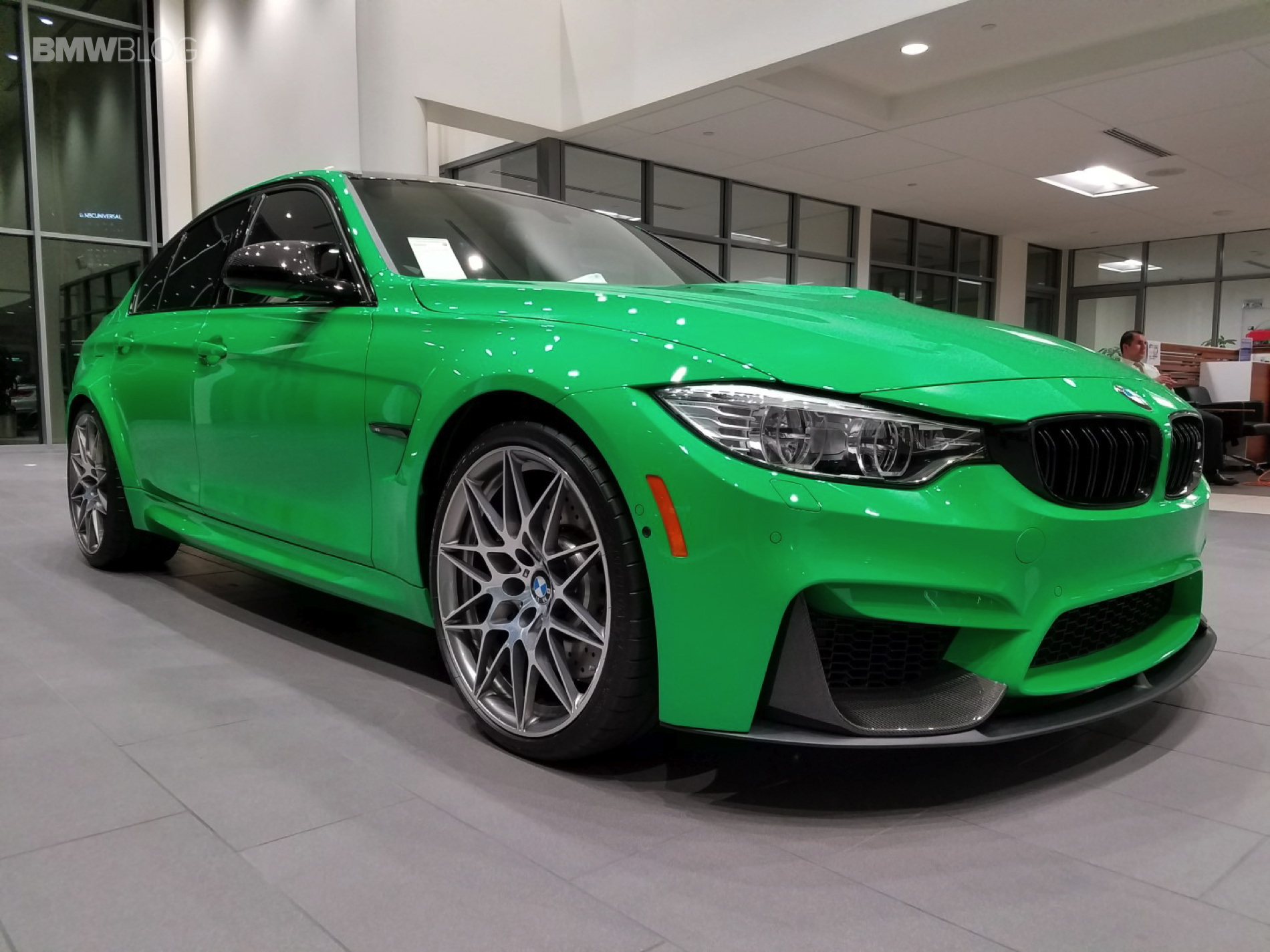 BMW M3 Competition Package Signal Green 24