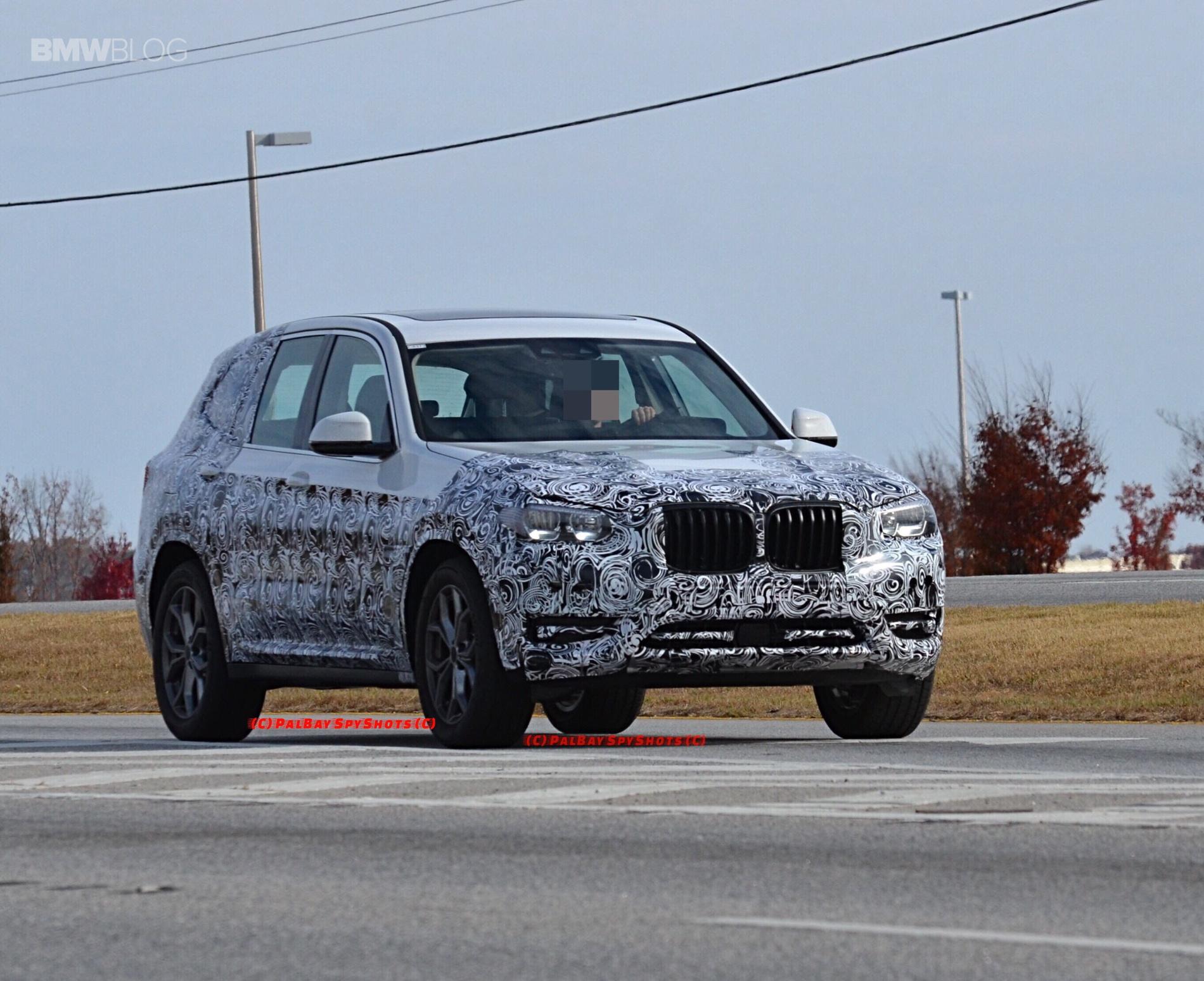 BMW X3 M40i spy photos 10