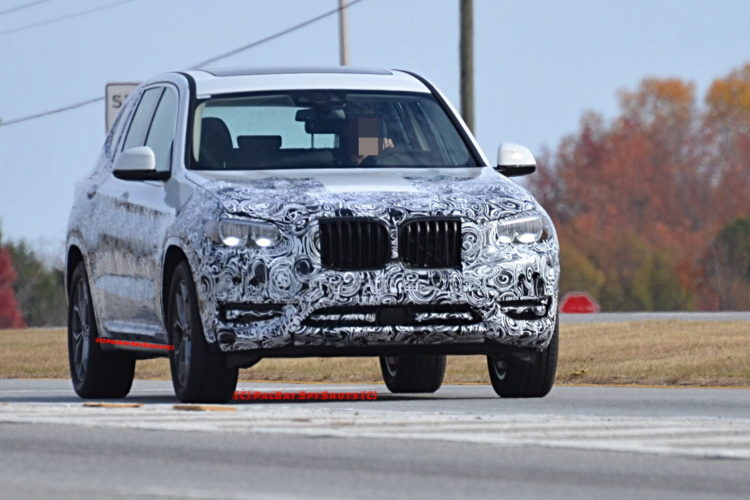 BMW X3 M40i spy photos 17 750x500