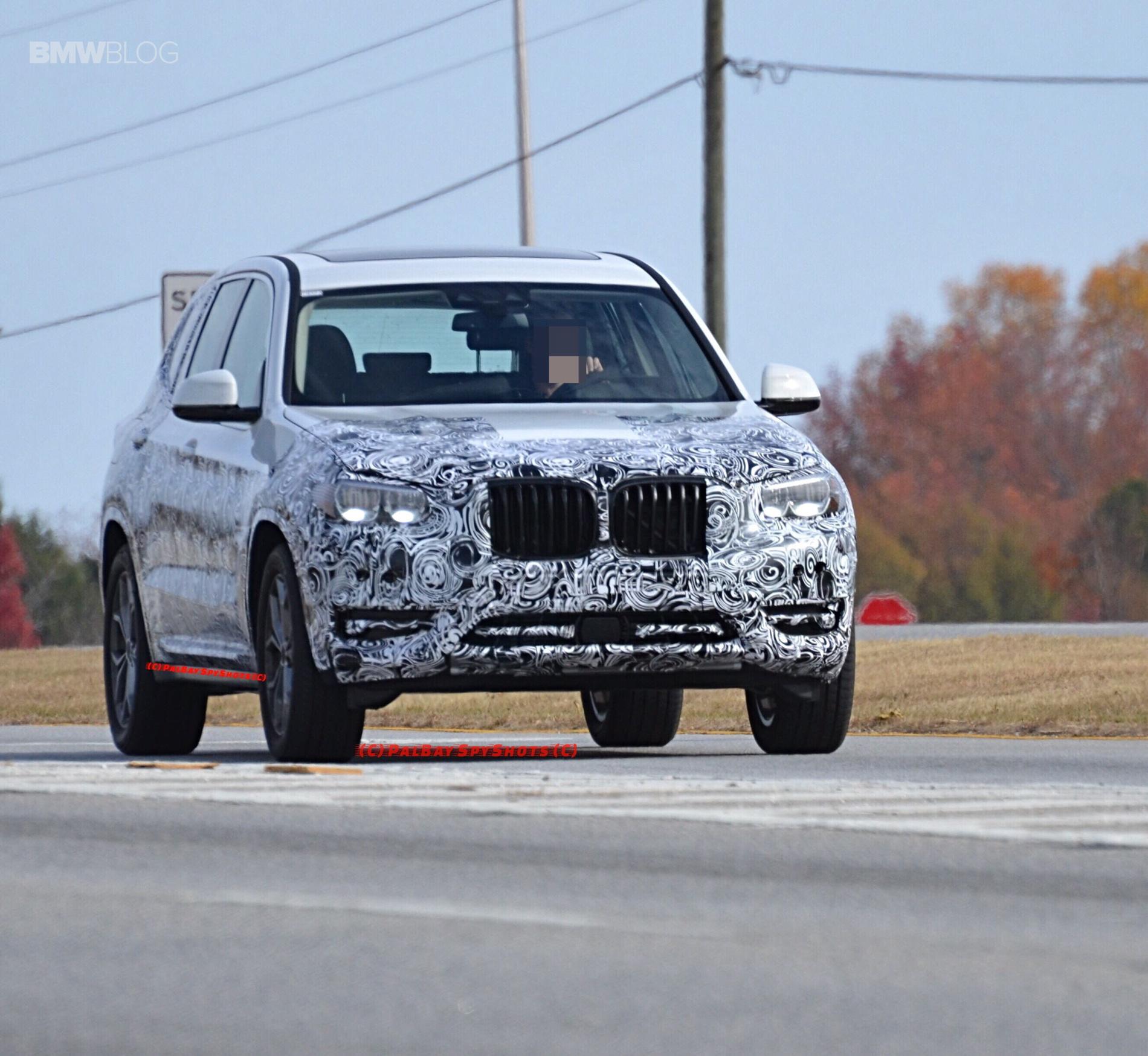 BMW X3 M40i spy photos 17