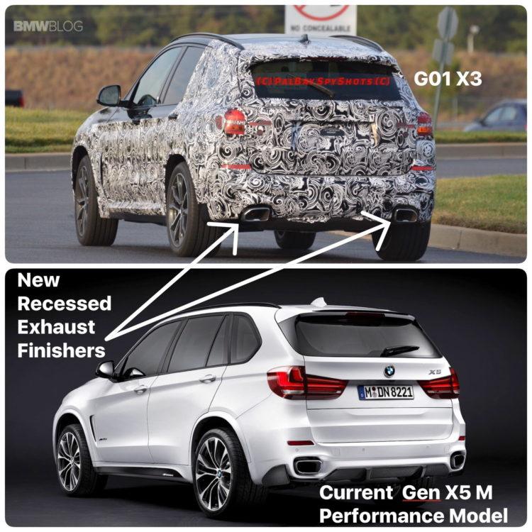 BMW X3 M40i spy photos 22 750x750