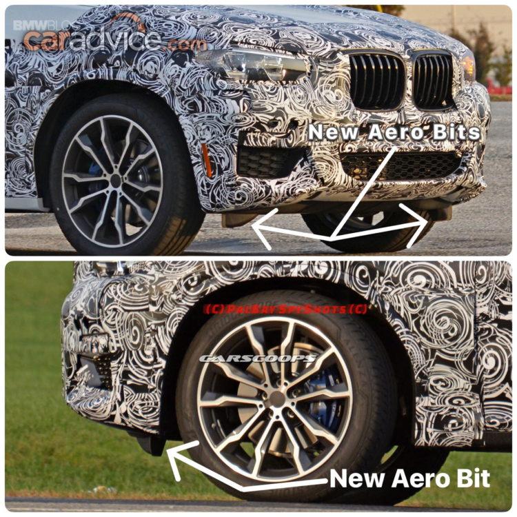 BMW X3 M40i spy photos 8 750x750