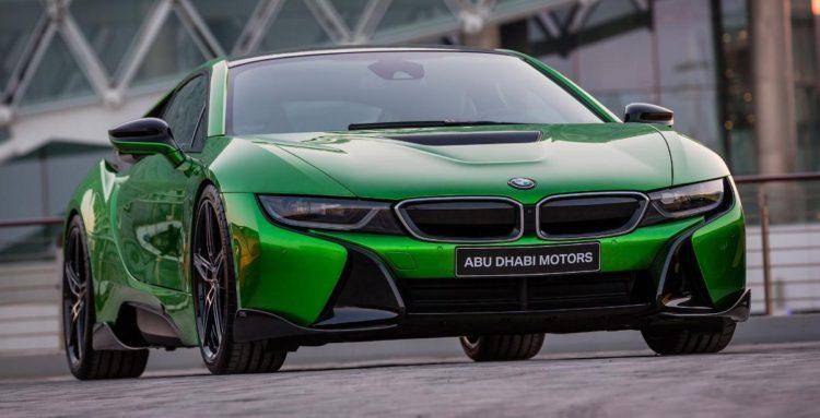 BMW i8 Abu Dhabi Motors 2 750x383