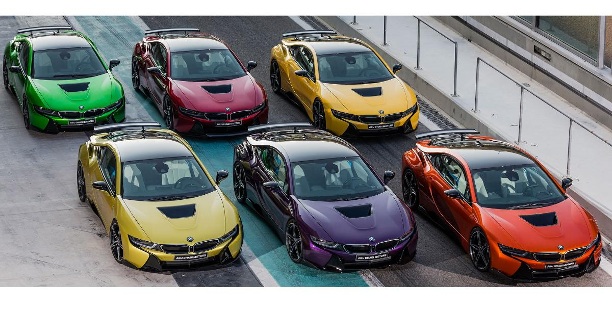 BMW i8 Abu Dhabi Motors 3