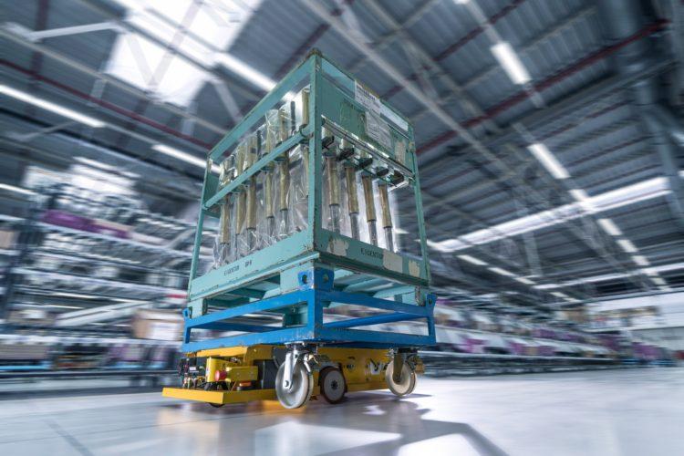 Bmw Logistics Now Use Autonomous Transport Robots