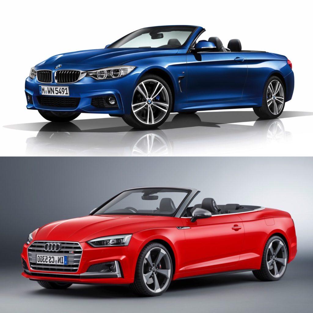 Photo Comparison: BMW 4 Series Convertible Vs Audi A5/S5