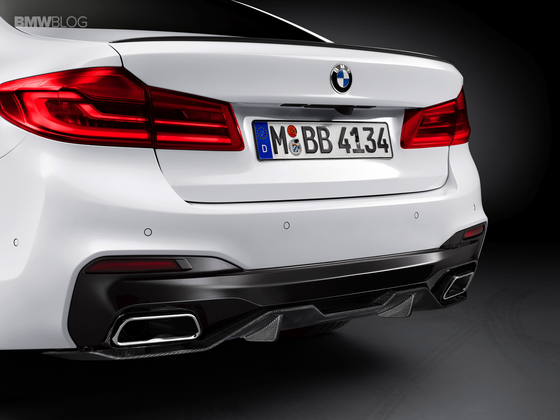 Bmw M Performance Parts For The New Bmw G30 5 Series