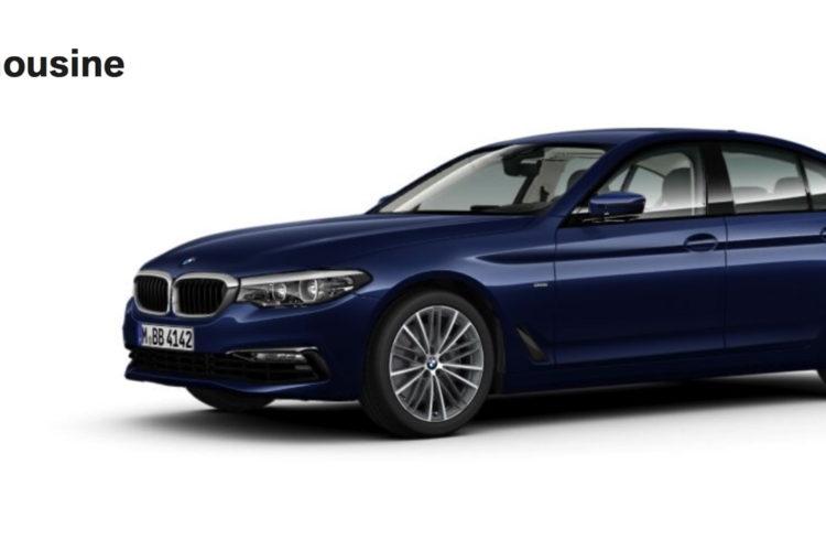 G30 BMW 5 Series online configuration 1 750x500