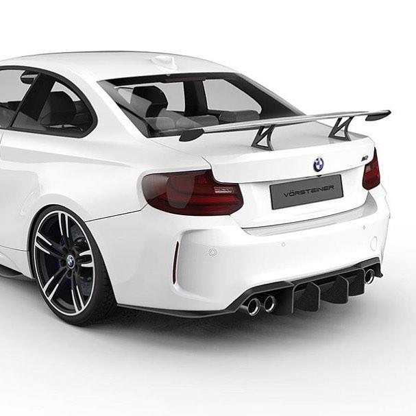 Vorsteiner BMW M2 teaser 2