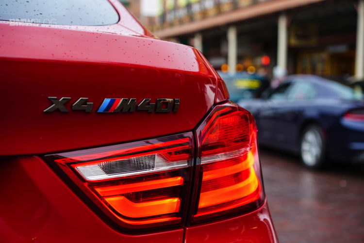 2017 BMW X4 M40i Review 128 750x501