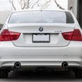 Alpine White BMW E90 335i Gets A Set Of Aftermarket Wheels