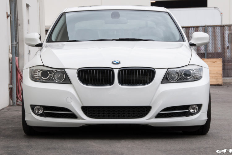 Alpine White BMW E90 335i Gets A Set Of Aftermarket Wheels 8 750x500
