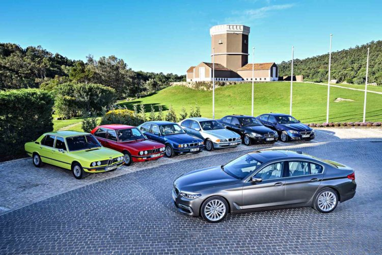 BMW 5 Series family 750x500