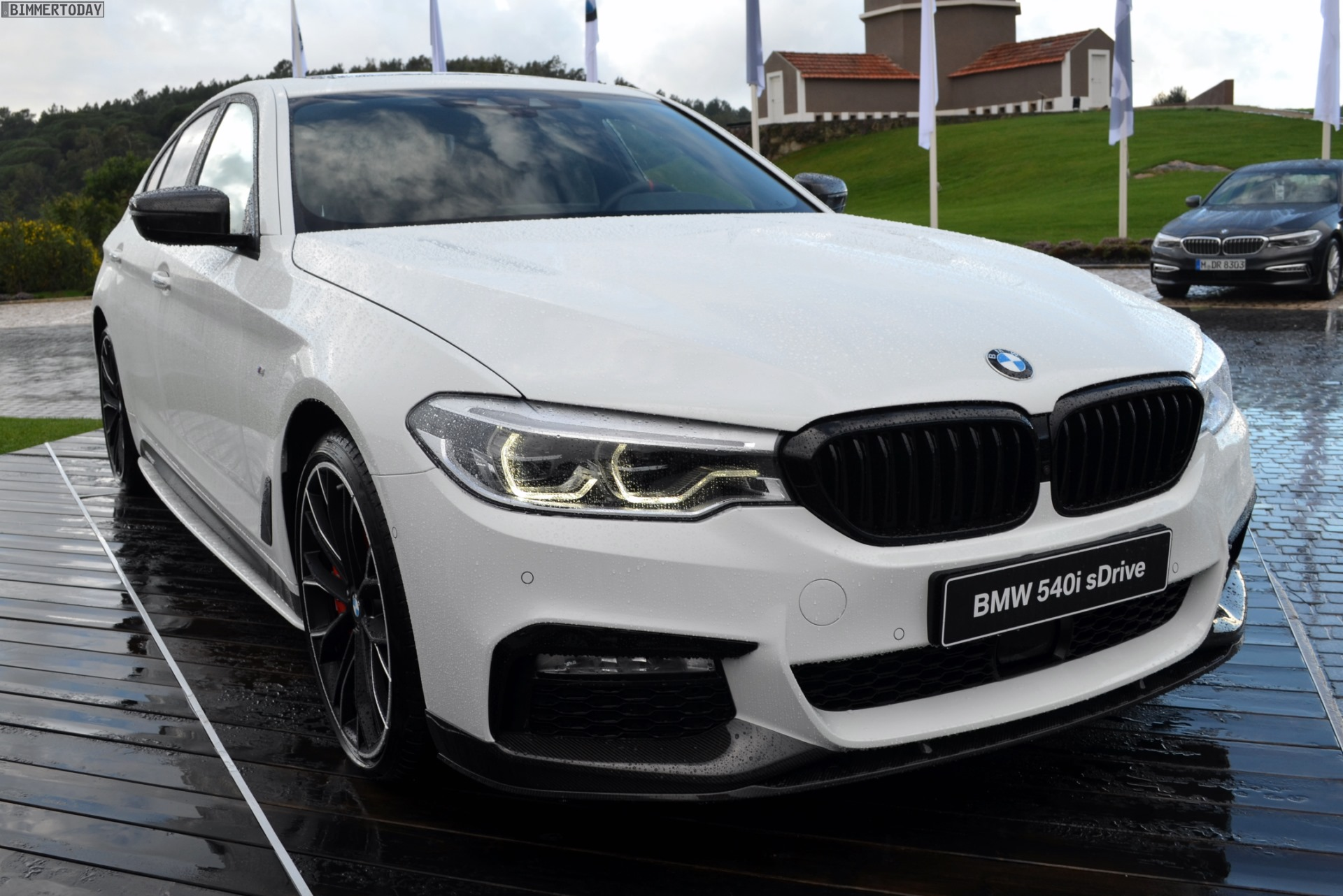Bmw Of Newton >> See the new BMW 5 Series decked out with M Performance Parts