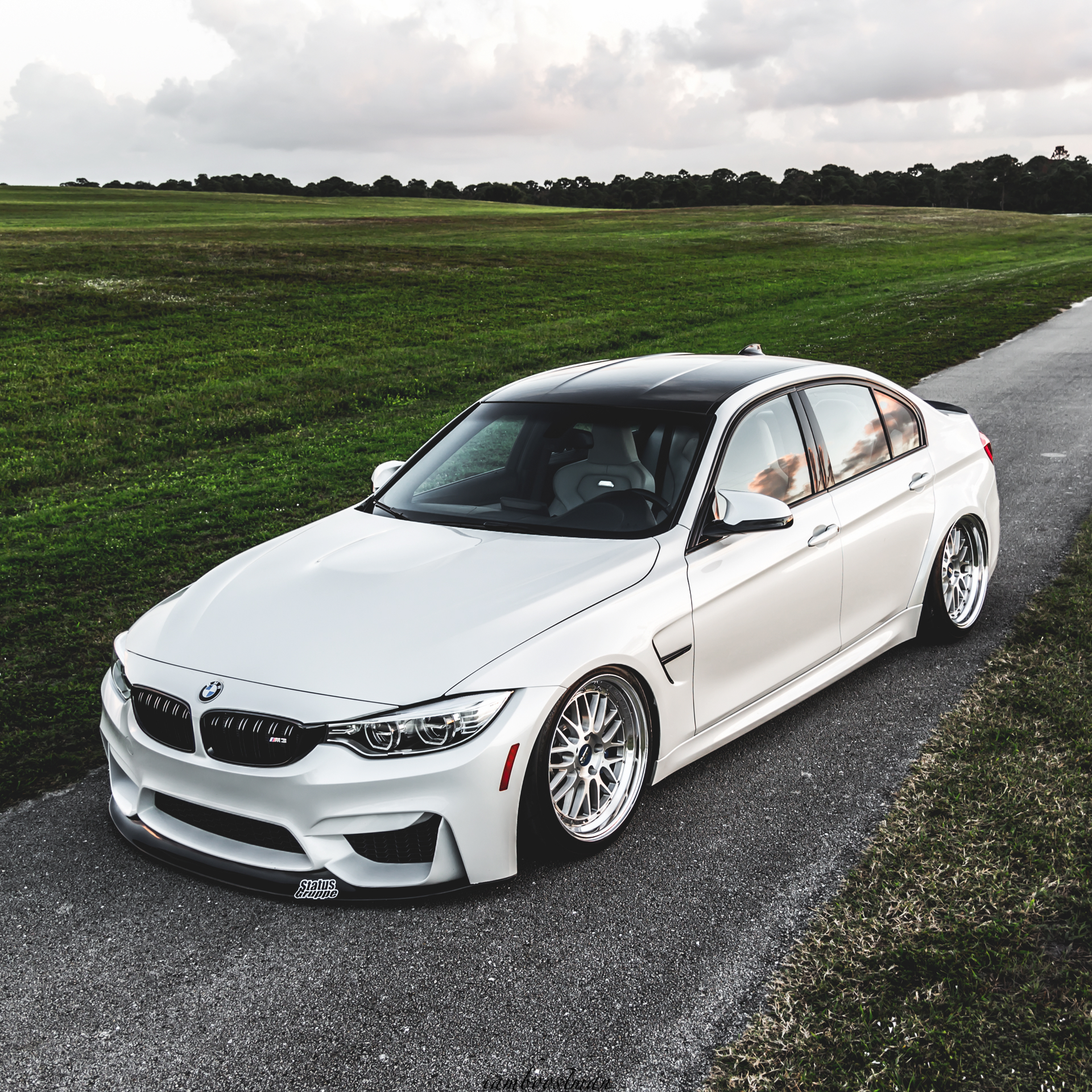 BMW F80 M3 Gets Down And Low