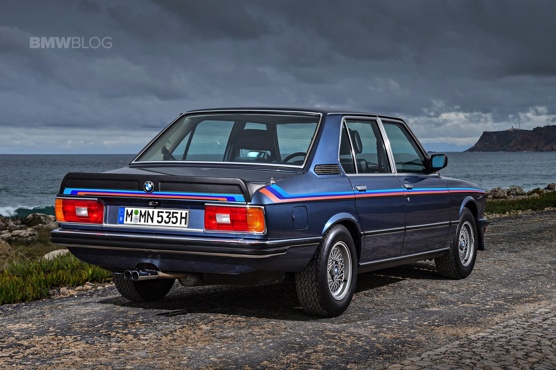 Photoshoot With The Iconic BMW E12 M535i