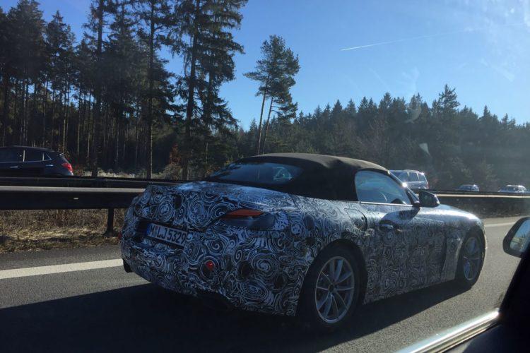 BMW Z4 test mule 1 750x500