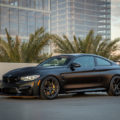 Black BMW M4 GTS By Vorsteiner Wallpaper