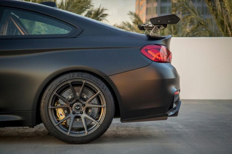Black BMW M4 GTS By Vorsteiner Photoshoot 6 750x500
