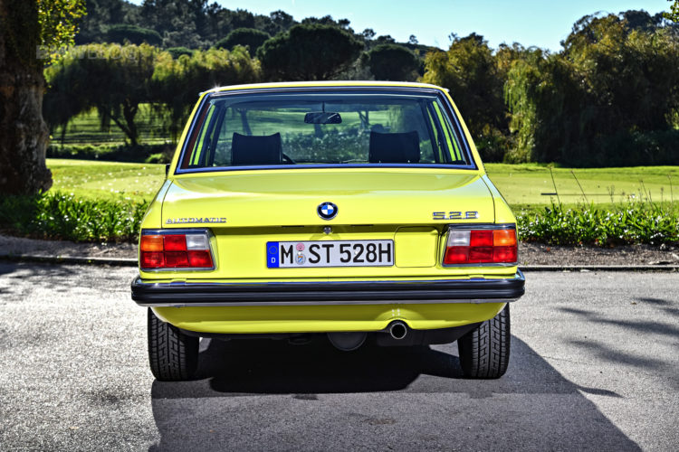 BMW 5 Series History - 1st Generation (E12)