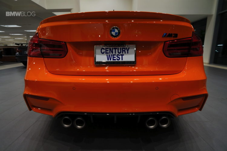 Fire Orange BMW M3 12 750x499